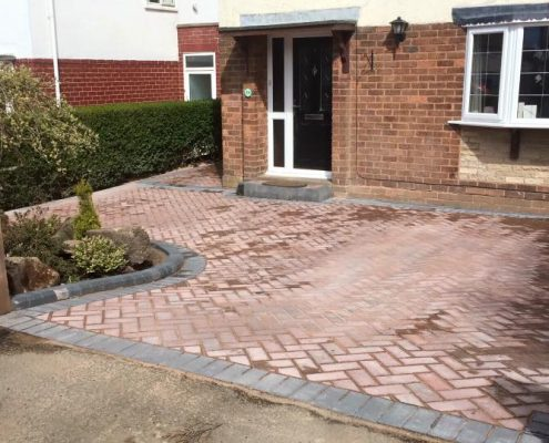 Decorative block paving Brierley Hill