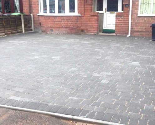 Block Paving Driveway services in and around the Dudley area