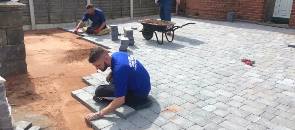 Block paving services in the Dudley area