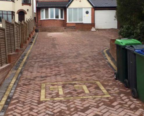 Block paving decorative driveways in Stourbridge
